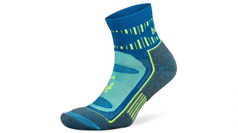 Balega Small Blister Resist Quarter Socks - Ethereal Blue