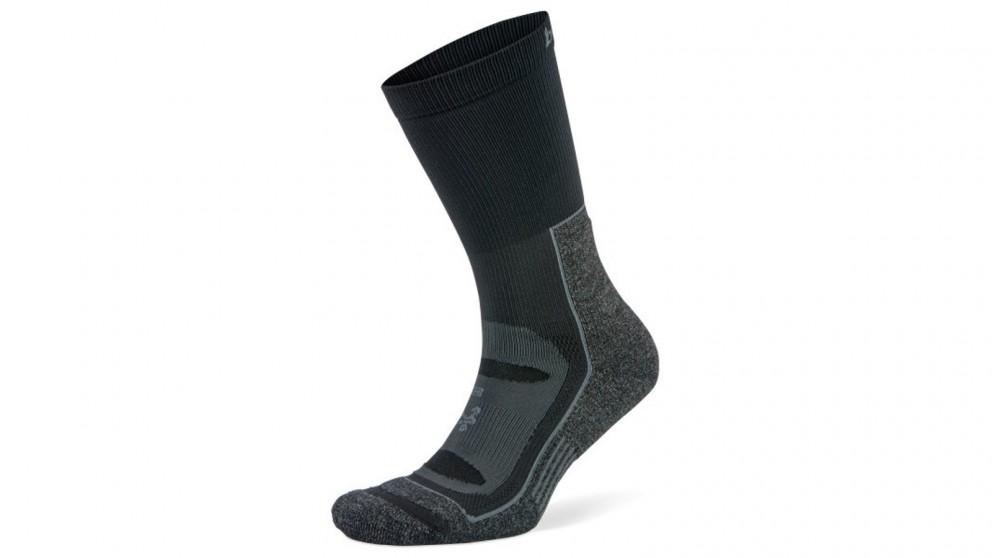 Balega Small Blister Resist Crew Socks - Grey/Black