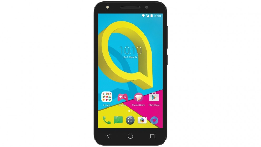 Vodafone Alcatel U5 4G Pre-Paid Smartphone - Grey