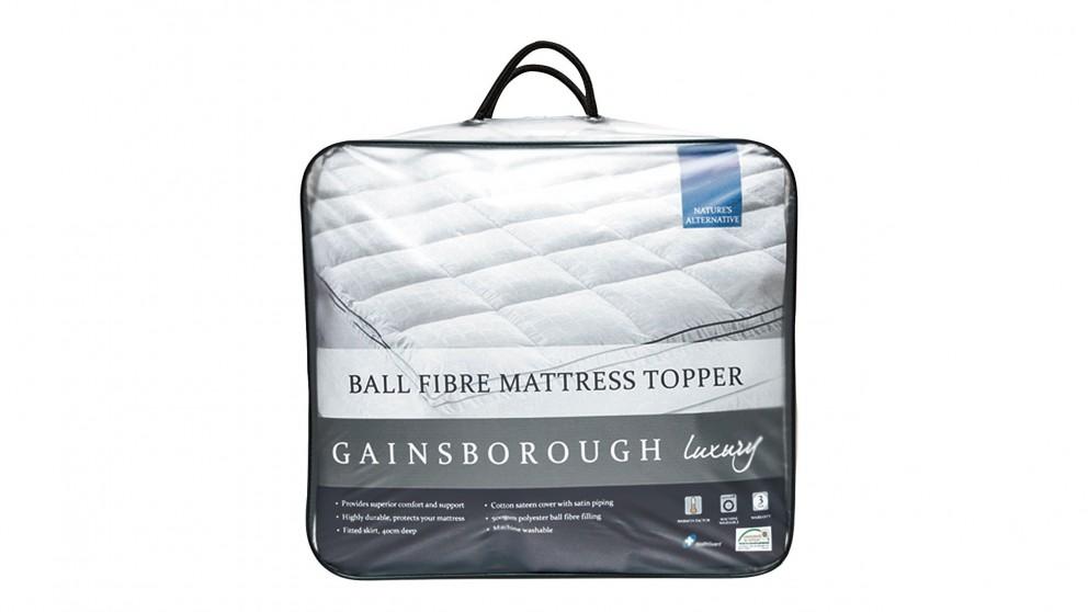 Gainsborough Luxury Ball Fibre King Mattress Topper