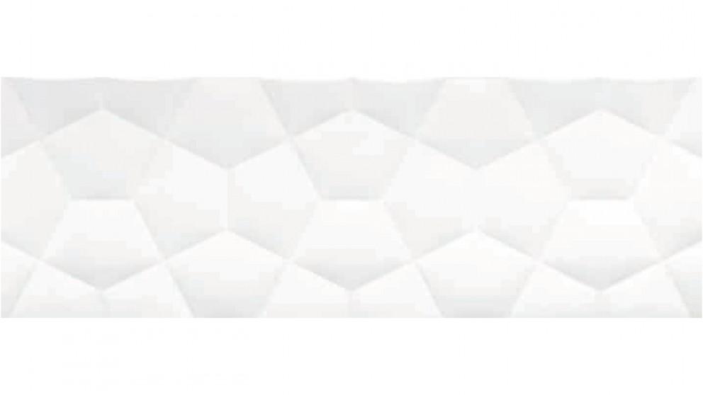 Eliane Ballon 300x900mm Tile - White