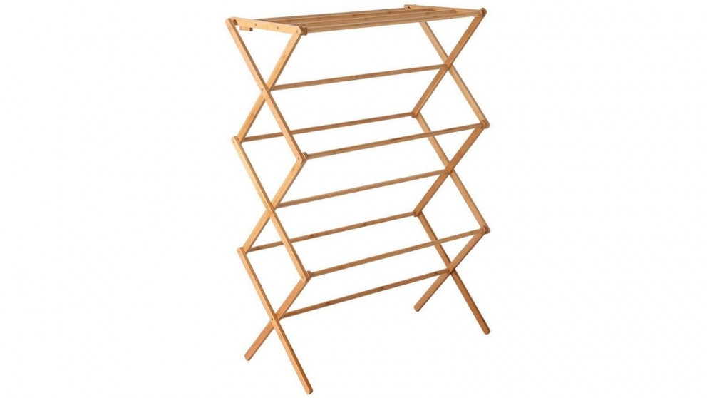 Artiss Bamboo Clothes Dry Rack