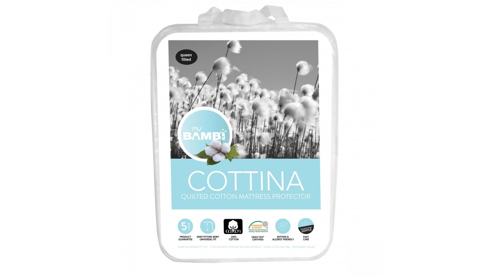 Cottina Long Single Mattress Protector