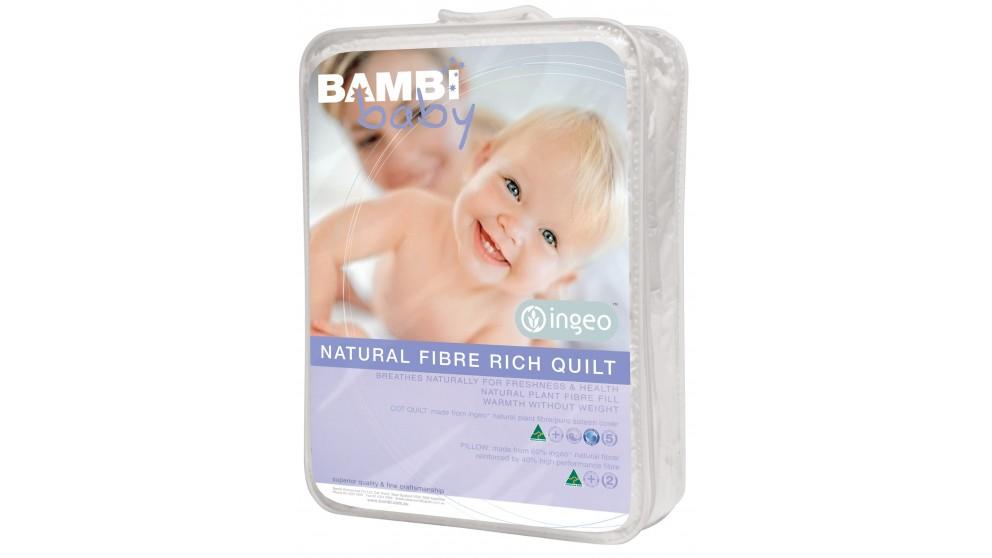 My Bambi Baby Ingeo Corn Cot Quilt