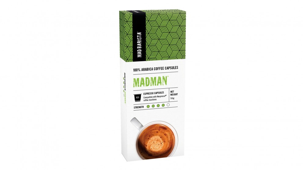 Mad Barista Madman Coffee Capsules
