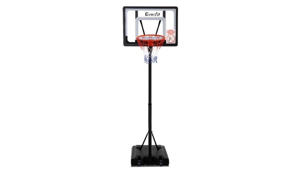 Everfit 2.6m Adjustable Portable Basketball Stand Hoop System