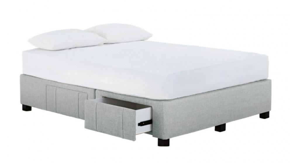 Buy Jett 4 Drawer Queen Bed Base Harvey Norman Au