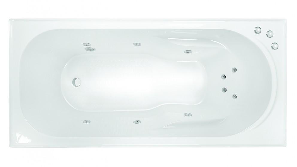 Decina Prato 1790mm Santai 10 Jet Smooth Base Spa Bath