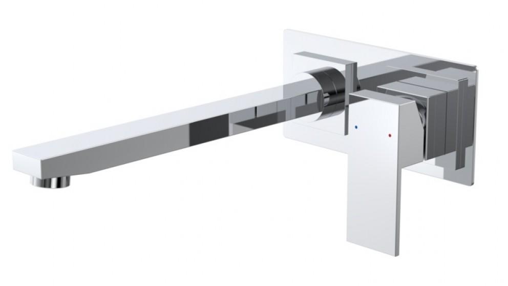 Caroma Quatro Solid Wall Mounted Bath Mixer