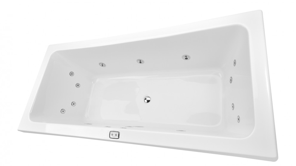 Decina Manhattan 1800 Contour Drop-In Spa Bath