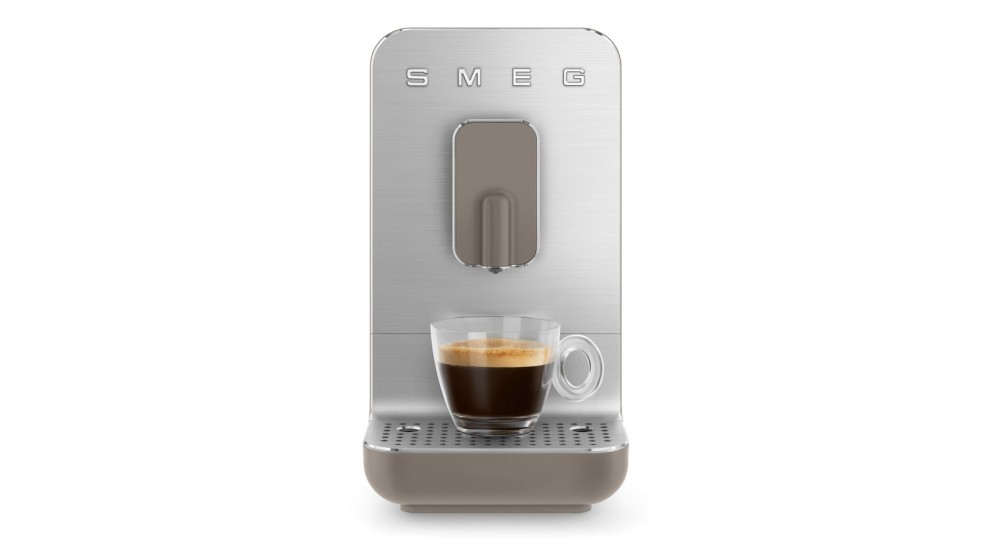 Smeg Bean to Cup Automatic Coffee Machine - Taupe Matte