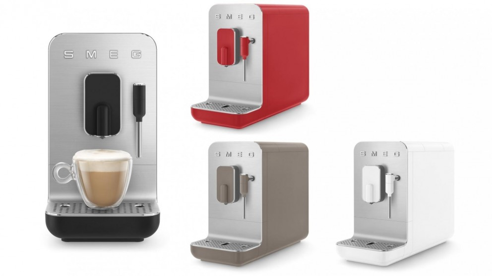 Smeg Bean to Cup Automatic Coffee Machine with Milk Frother