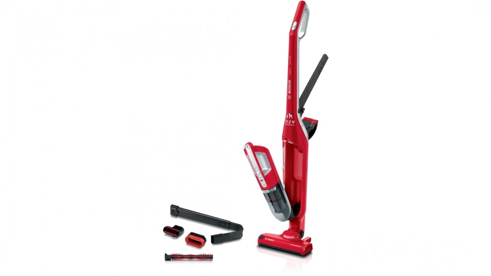 Bosch Flexxo ProAnimal 2-in-1 Rechargeable Vacuum Cleaner - Red