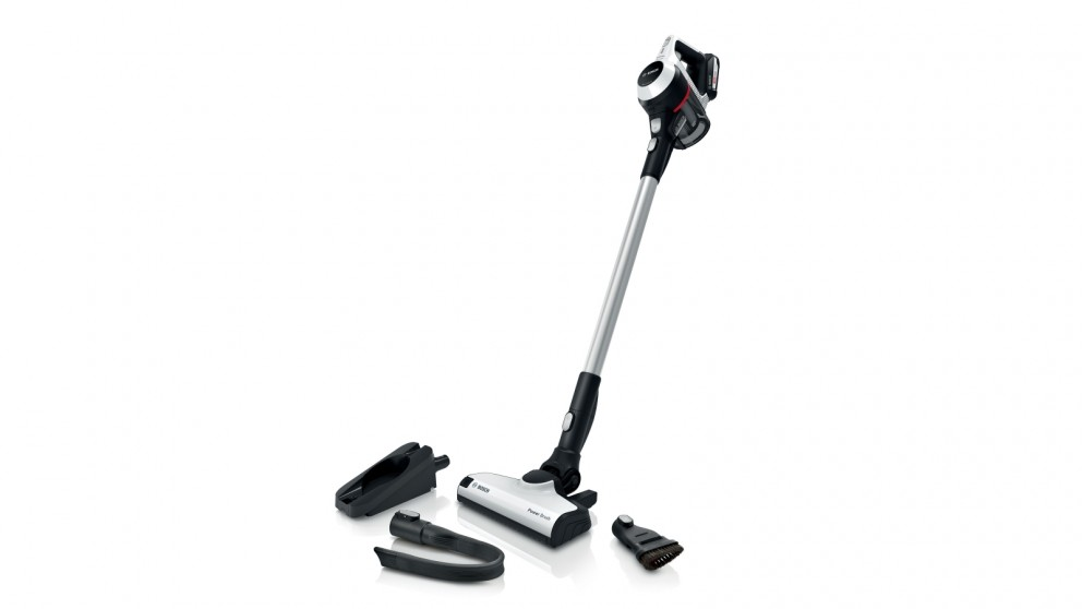 Bosch Series 6 Rechargeable Handstick Vacuum Cleaner - White