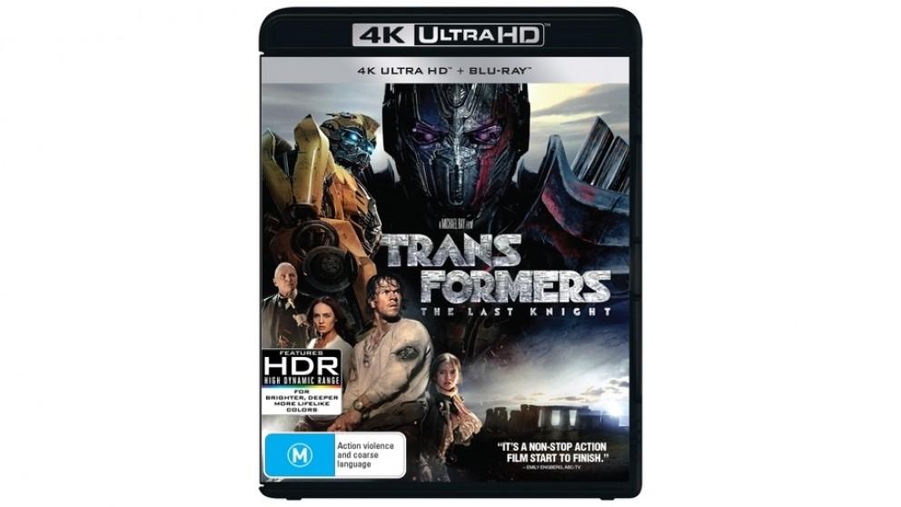 Transformers: The Last Knight - 4K Ultra HD Blu-ray