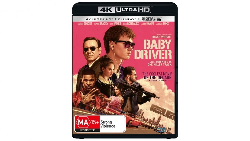 Baby Driver - 4K Ultra HD Blu-ray