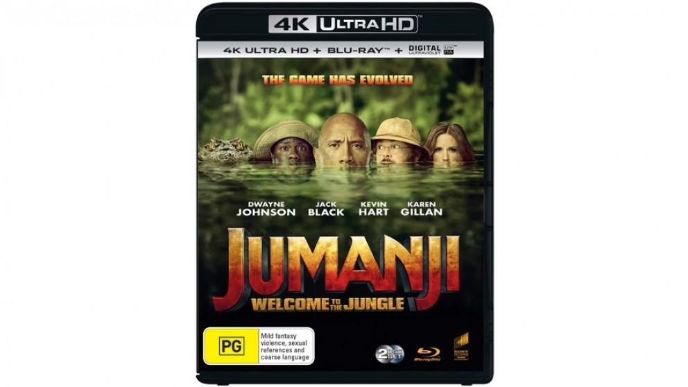 Jumanji: Welcome to the Jungle - 4K Ultra HD Blu-ray