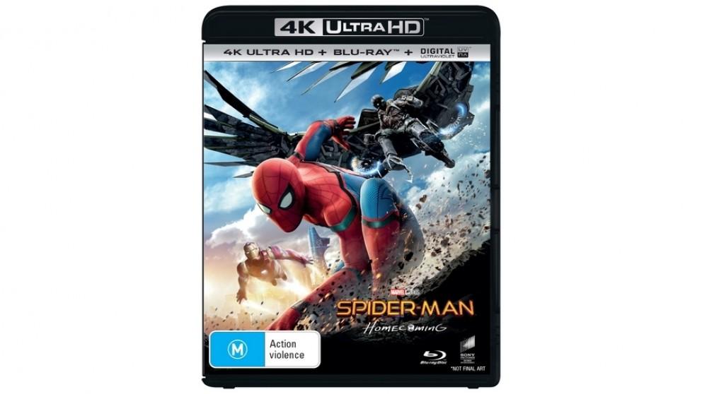 Spider-Man: Homecoming - 4K Ultra HD Blu-ray