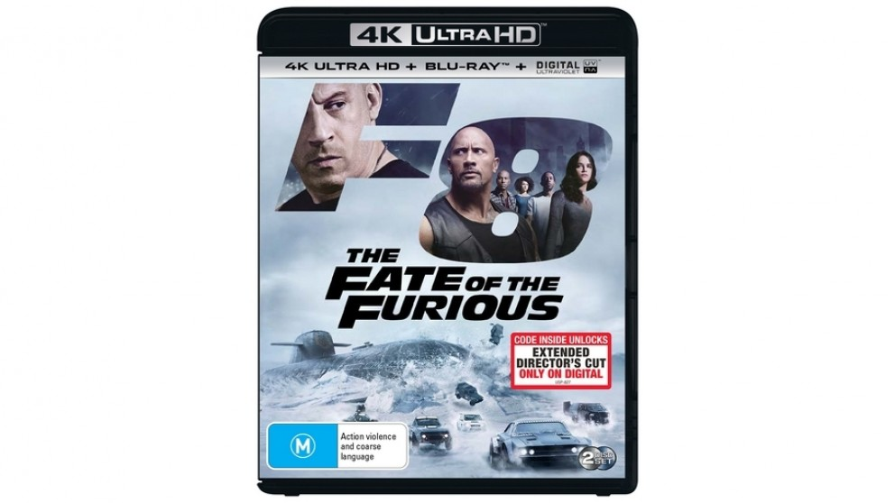 The Fate of the Furious - 4K Ultra HD Blu-ray