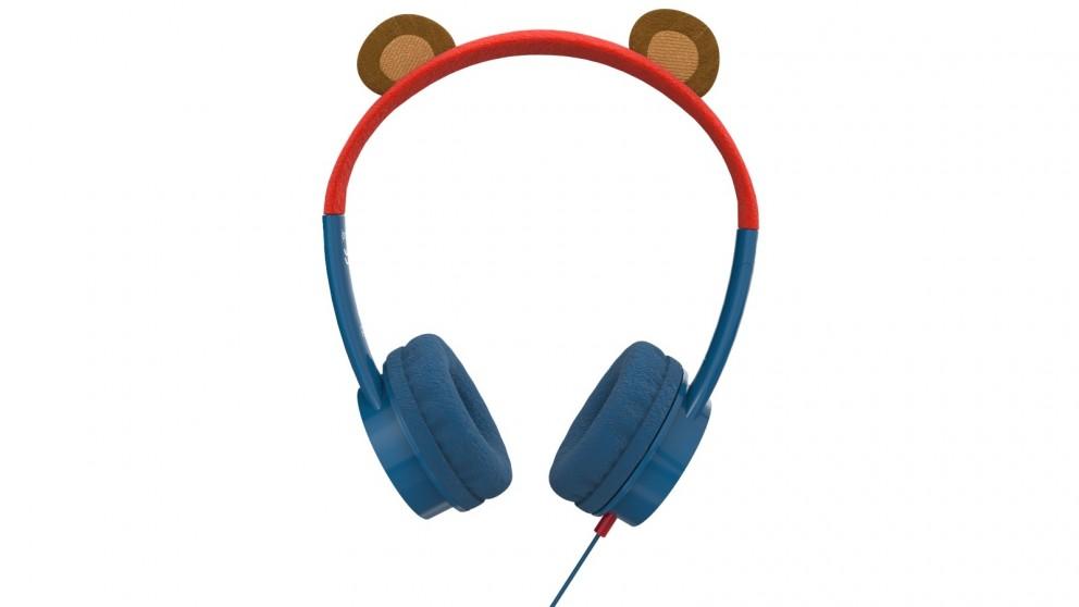 Zagg iFrogz Little Rockerz Costume Headphones - Bear