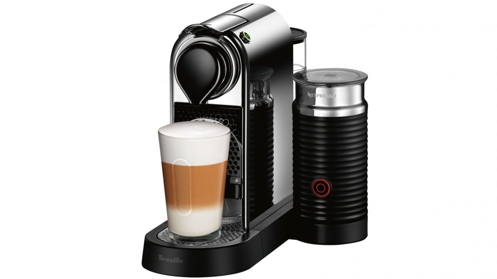 Nespresso Citiz & Milk Coffee Machine by Breville - Chrome