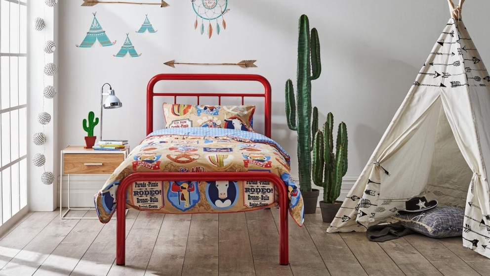Calypso Single Bed - Red