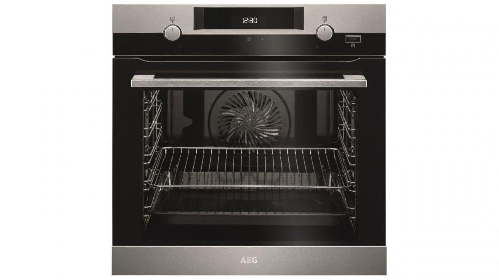 AEG 600mm 9 Function SteamBake Oven