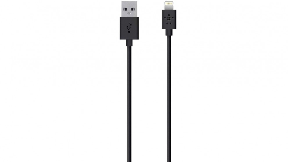 Belkin Mixit Up Lightning to USB 3m ChargeSync Cable - Black