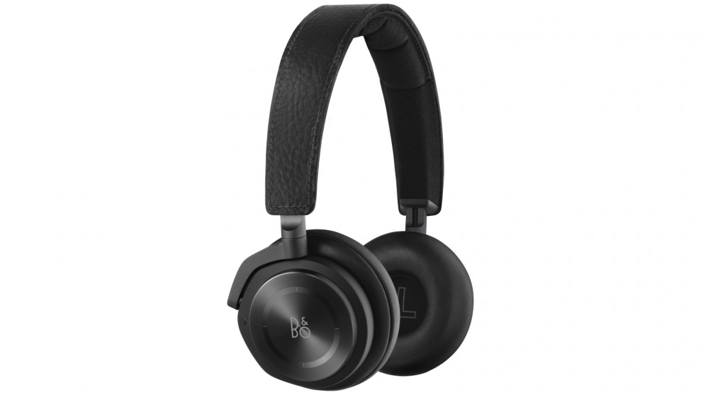 B&O PLAY Beoplay H8 Wireless Bluetooth Active Noise Cancelling On-Ear Headphones - Black