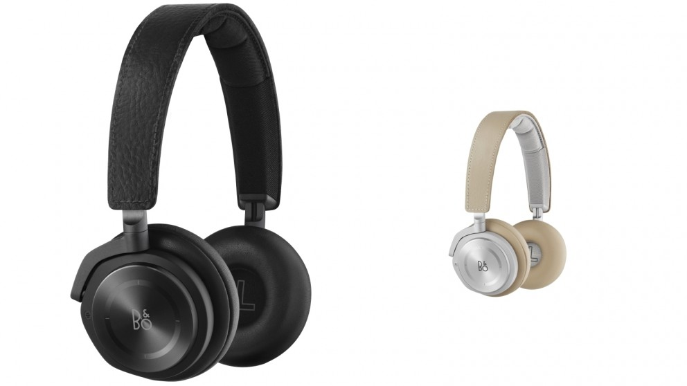 B&O PLAY Beoplay H8 Wireless Bluetooth Active Noise Cancelling On-Ear Headphones
