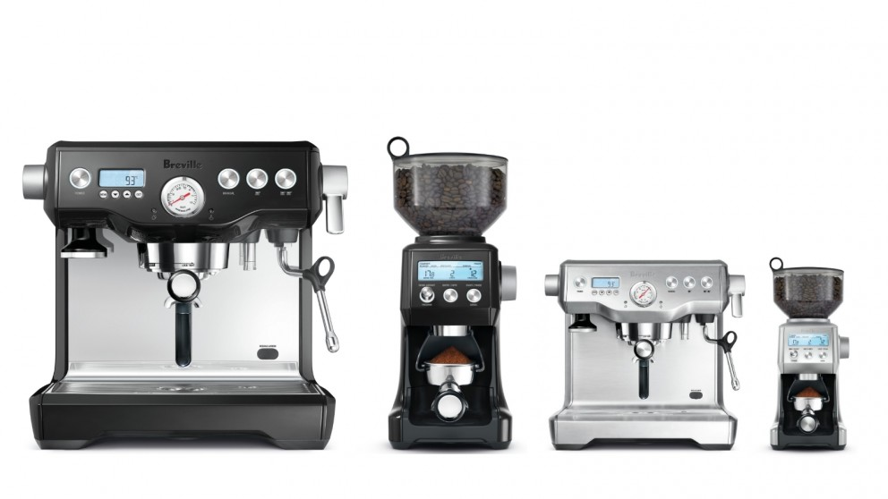 Breville Dynamic Duo Coffee Machine and Grinder