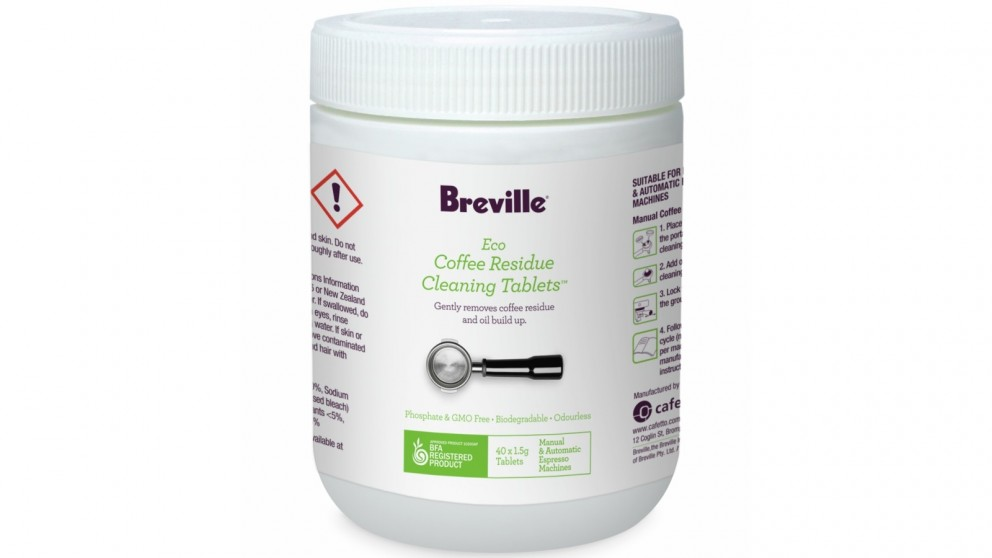 Breville Eco 40 Pack Coffee Residue Cleaning Tablet