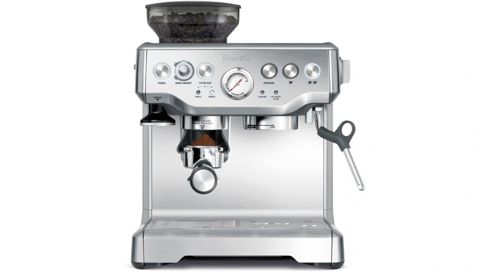 Breville Barista Express Manual Coffee Machine - Brushed Stainless Steel