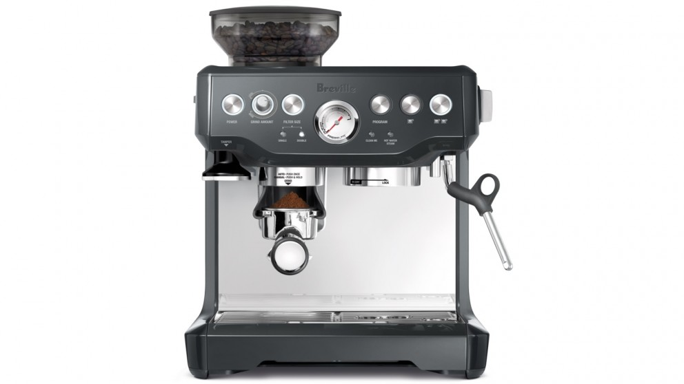 Breville Barista Express Manual Coffee Machine - Charcoal