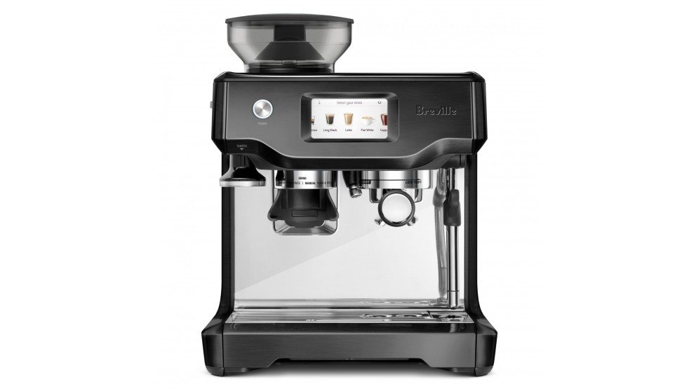 Breville The Barista Touch Coffee Machine - Black Stainless Steel