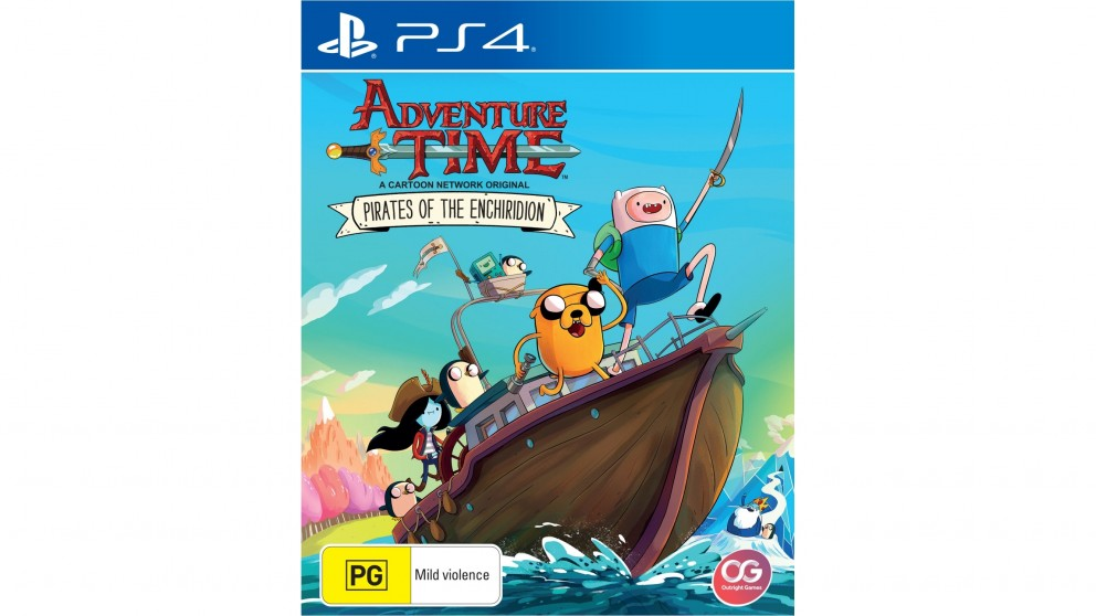 Image result for adventure time pirates of the enchiridion ps4 box