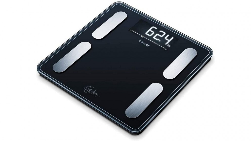 Beurer BF400B Signature Digital Glass Body Fat Scale - Black