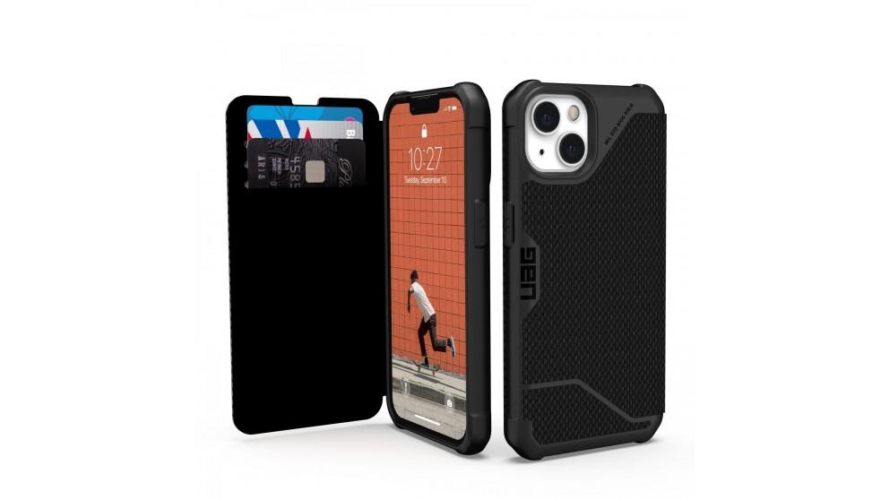 UAG Metropolis Case for iPhone 13 - Kevlar Black