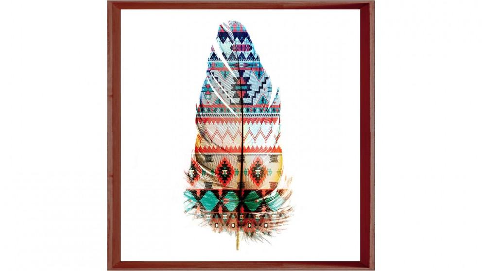 Bizarre Feathers 1 Print