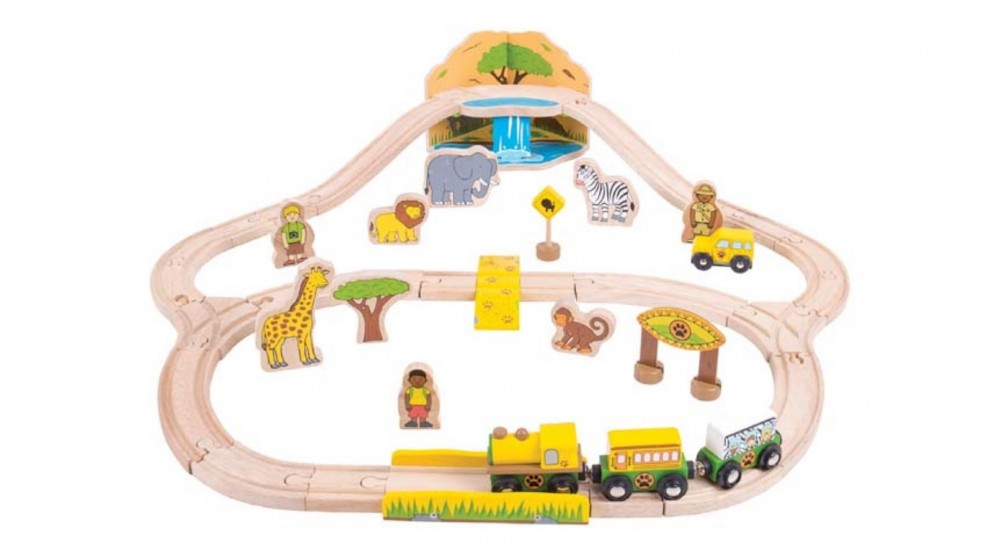 Bigjigs Safari Train Set