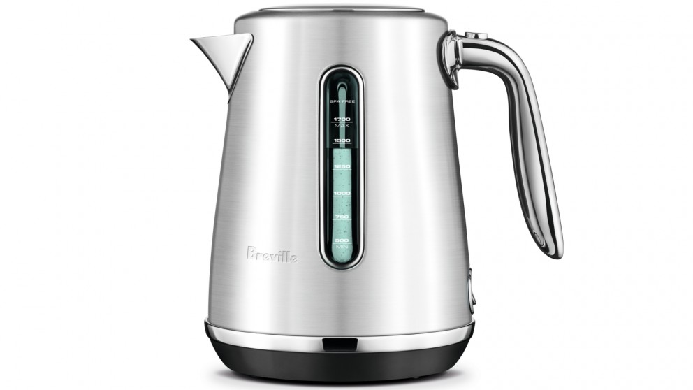 Breville Soft Top Luxe 1.7L Kettle - Silver