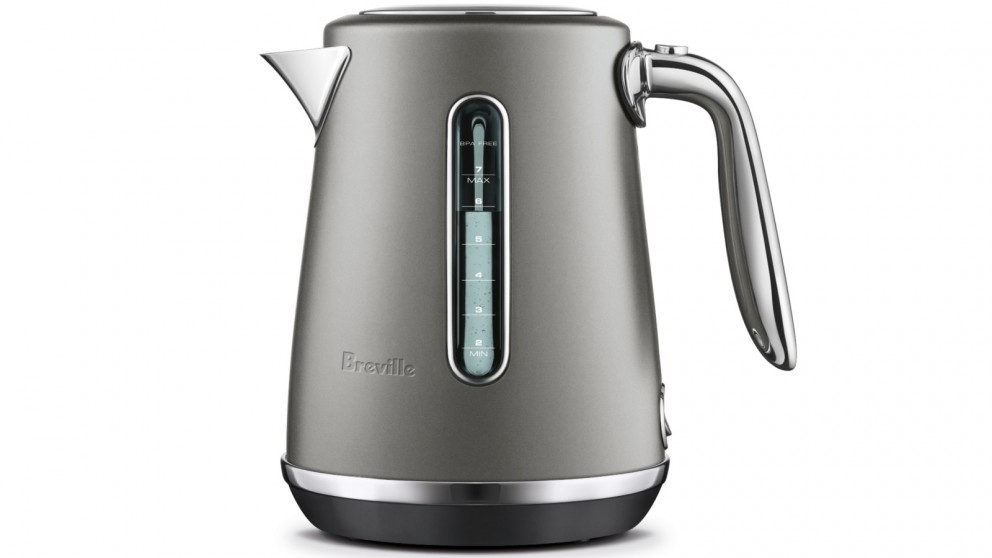 Breville Soft Top Luxe 1.7L Kettle - Oyster Shell