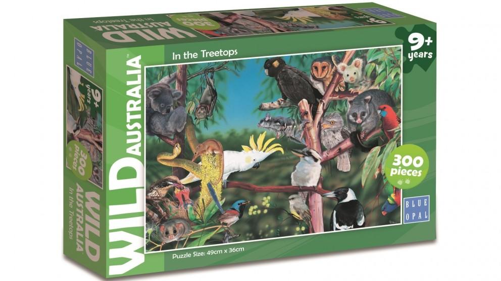 Blue Opal Wild Australia In the Treetops 300 Piece Jigsaw Puzzle