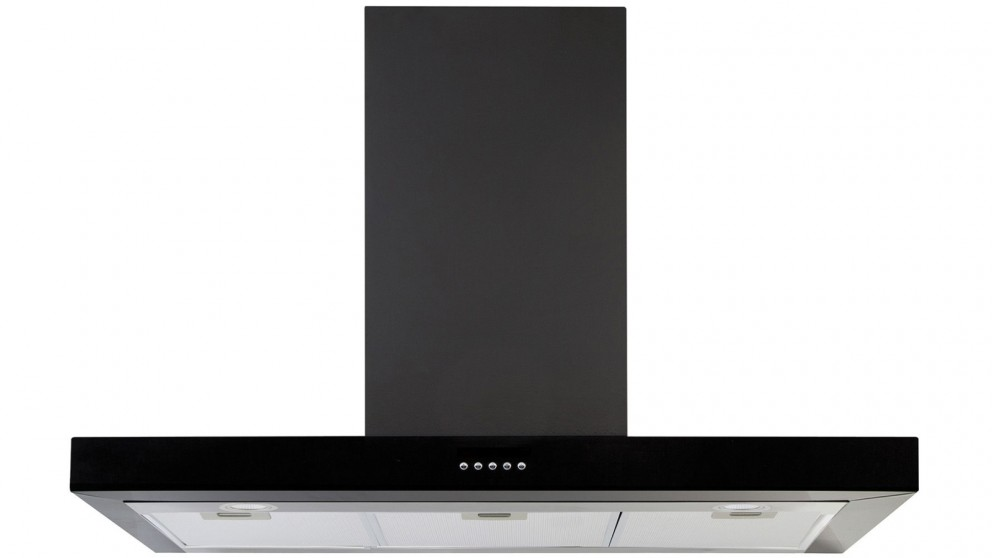 Belling 90cm Linear Rangehood - Black