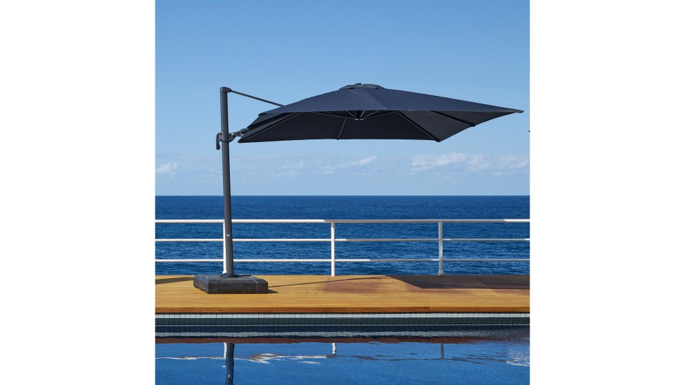 Shadow 3 x 3m Square Cantilever Outdoor Umbrella