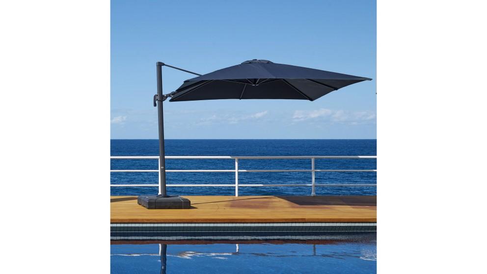 Shadow 3 x 3m Square Cantilever Outdoor Umbrella