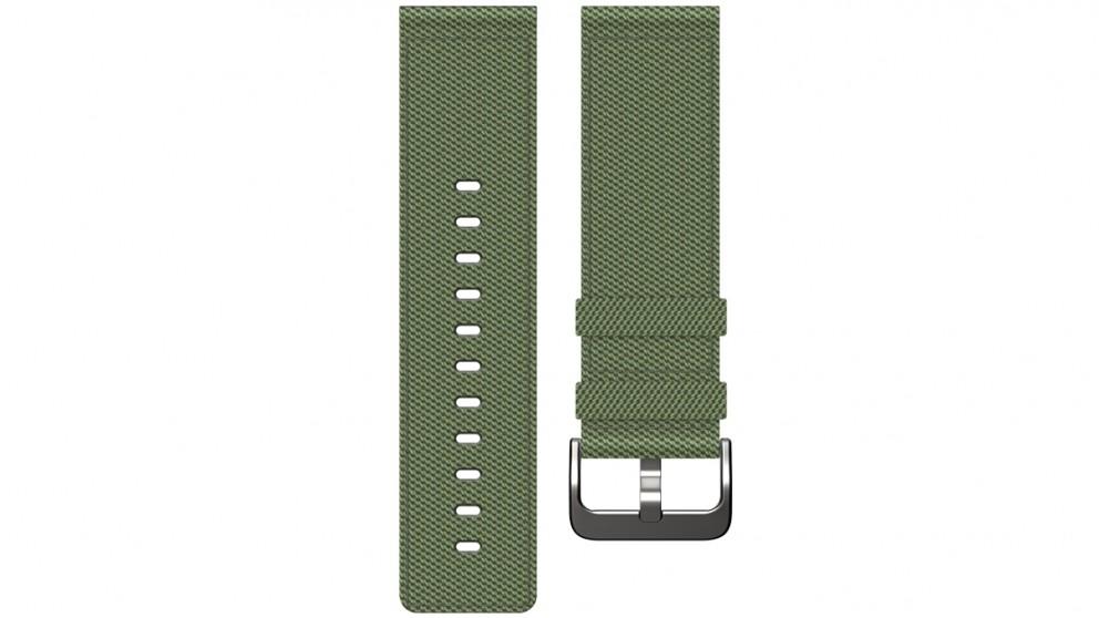 Fitbit Blaze Large Nylon Wristband - Olive