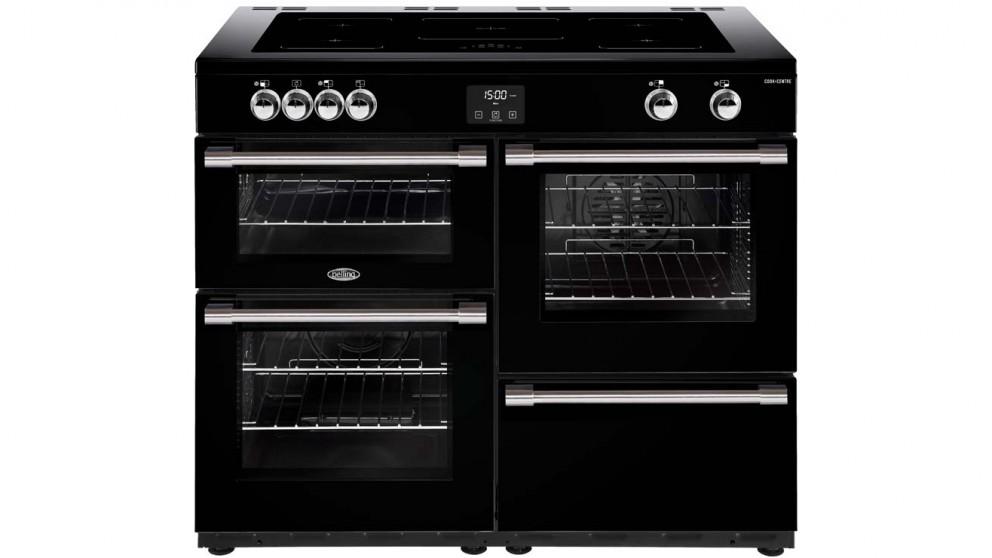 Belling 1100mm CookCentre Deluxe Induction Range Cooker - Black