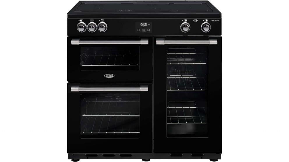 Belling 900mm CookCentre Deluxe Induction Range Cooker - Black
