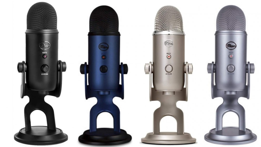 Buy Blue Microphones Yeti 3-Capsule USB Microphone | Harvey Norman AU